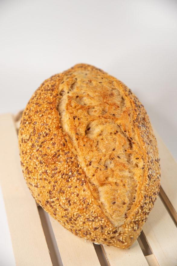 לחם מחמצת נבט חיטה