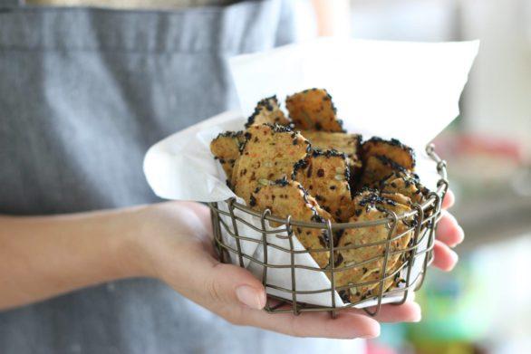 עוגיות מלוחות פרג
