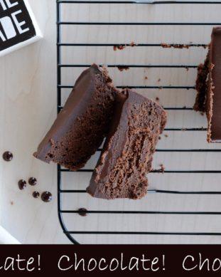 עוגת פודנט שוקולד