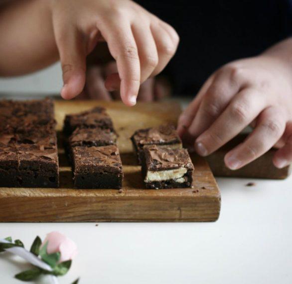 בראוניז שוקולד לבן