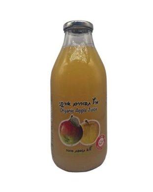 מיץ תפוחים אורגני גדול